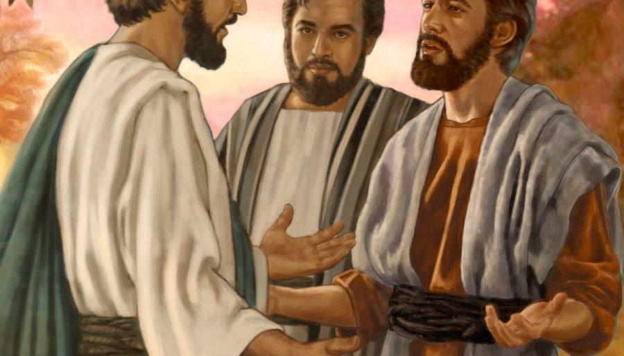 """Permalink to: Domingo XXIX Tiempo Ordinario: """"Porque el Hijo del hombre no ha venido para que le sirvan, sino para servir y dar su vida en rescate por todos."""""""